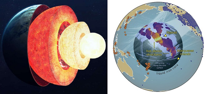 Sâu bên trong lòng đất là gì? Lần đầu tiên các nhà nghiên cứu lập bản đồ cấu trúc trong lòng Trái Đất