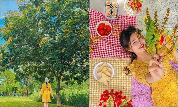 Cuối tuần kéo hội bạn đi picnic 1 ngày ở công viên Yên Sở, lên hình mà cứ tưởng vừa dã ngoại bên bờ sông Hàn