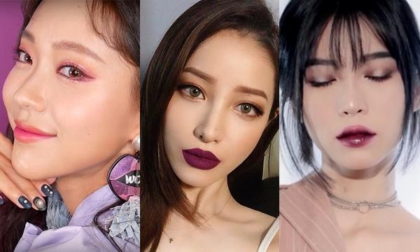 4 makeup look đỉnh cao giúp chinh phục màu tím trendy cho làn da châu Á