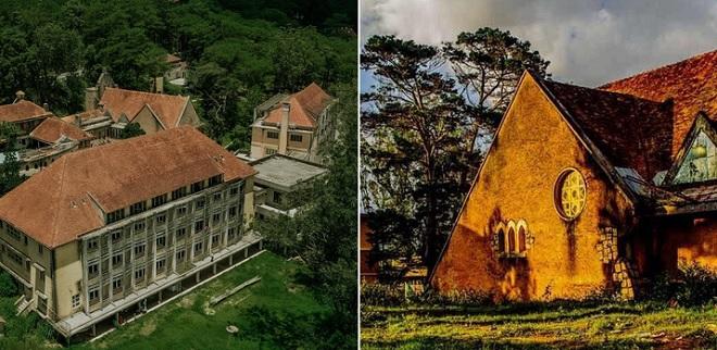 Ít ai biết Đại học Kiến trúc TP HCM có một cơ sở đẹp kỳ bí mang phong cách châu Âu cổ kính ở Đà Lạt