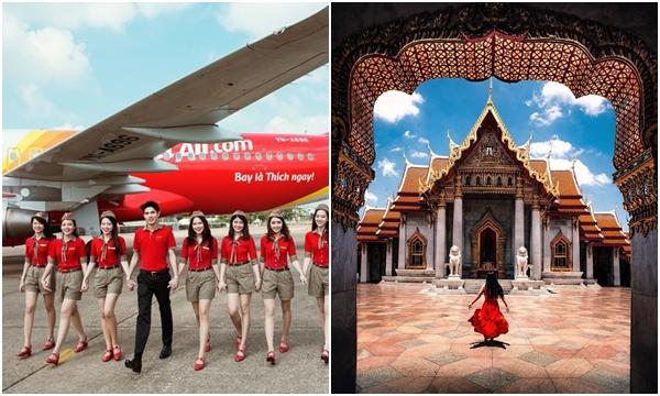 Vietjet Air chính thức khai thác trở lại các đường bay sang Thái Lan hậu dịch Covid-19