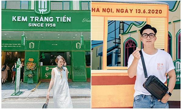 """Diện mạo mới của Kem Tràng Tiền chính thức ra mắt: Cả Hà Nội đổ về đây để ăn kem và check-in """"sống ảo"""""""