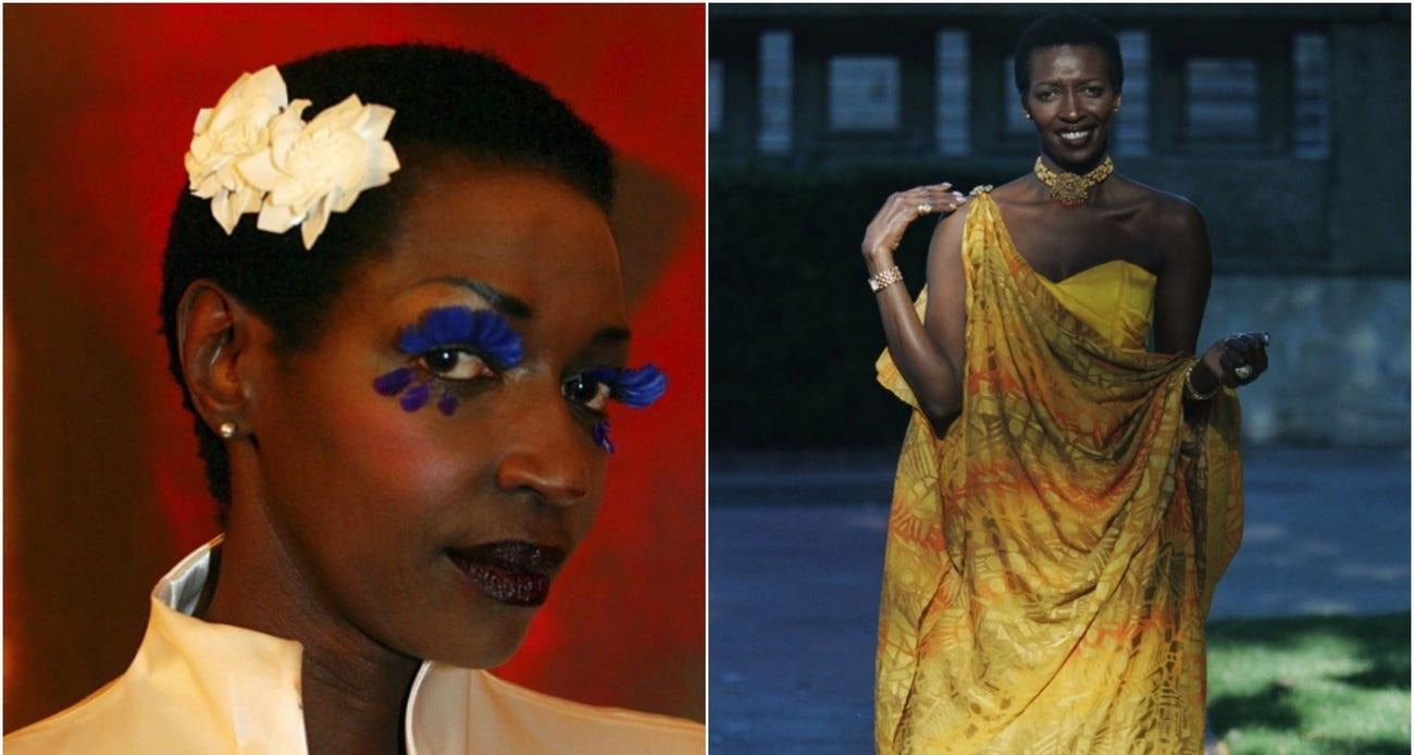 Cuộc sống gây ngạc nhiên của công chúa Burundi, người mẫu da màu đầu tiên tại Pháp
