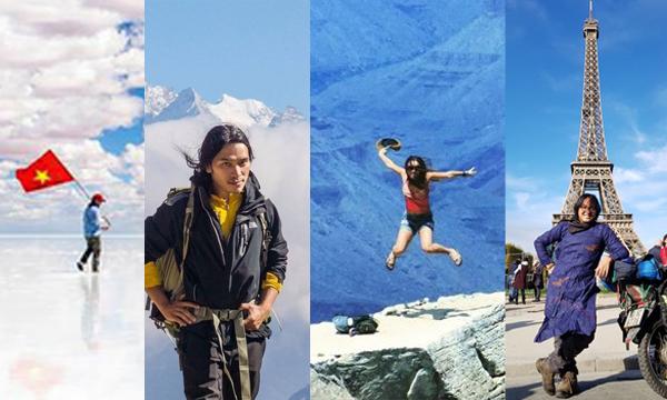 4 phượt thủ nổi tiếng Việt Nam khiến nhiều người trẻ ngưỡng mộ: Chinh phục Bắc Cực, đi xe máy vòng quanh thế giới...