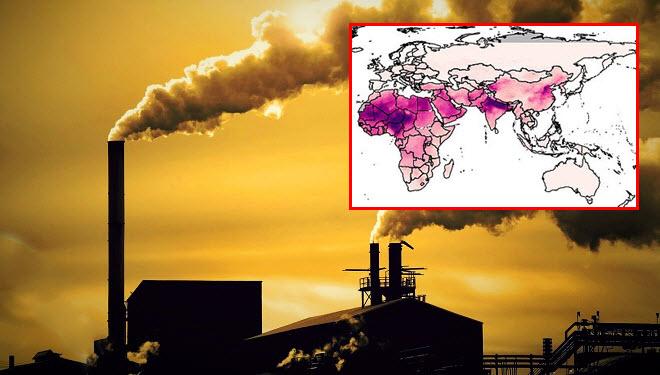 Một nửa dân số thế giới đối mặt với tình trạng ô nhiễm không khí gia tăng, nhiều nơi ô nhiễm cao vượt mức 5 lần