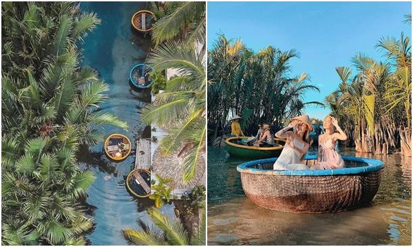 """Xuôi dòng trải nghiệm """"miền Tây trong lòng Hội An"""" ở rừng dừa Bảy Mẫu: từ đánh cá, đập nồi đến múa thúng"""