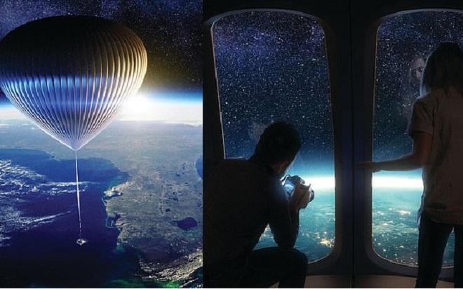 Startup mở tour du lịch trên bầu khí quyển với mức giá 125.000 USD trong 6 tiếng đồng hồ