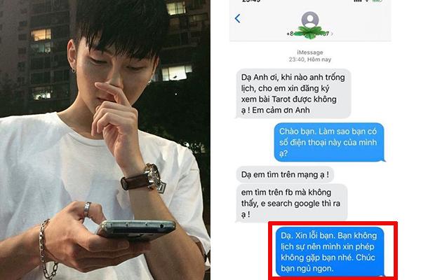 """Robert Chen phiên bản 2: Dù nhắn tin """"dạ thưa"""" lễ phép, cô gái vẫn bị chàng trai từ chối không tiếp vì cho rằng bất lịch sự"""