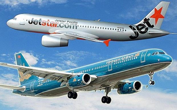"""Vietnam Airline và Jetstar Pacific """"liên kết"""", vé máy bay lập tức giảm còn 49000 đồng"""