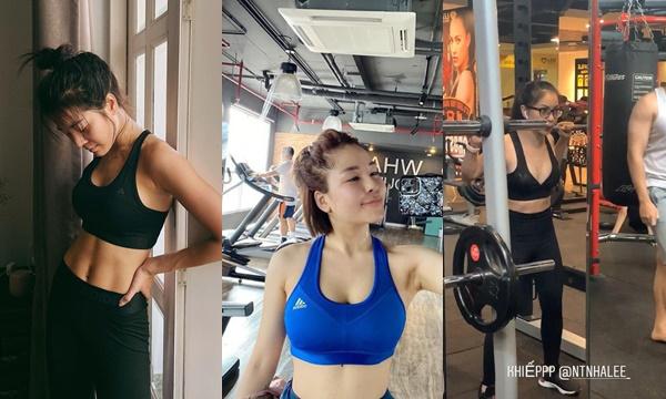 """Loạt mỹ nhân Việt tranh thủ check-in khoe dáng tại phòng tập gym: Người nhễ nhại mồ hôi, người """"thản nhiên"""" như đi dạo"""