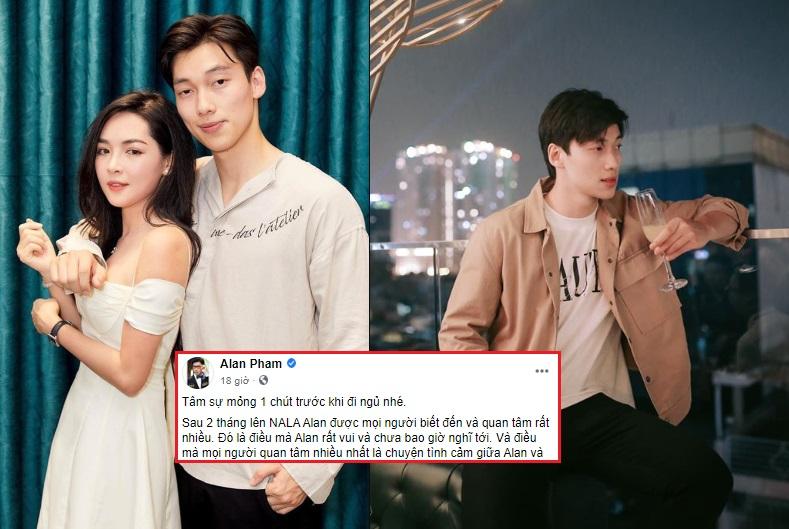 """Tung loạt ảnh """"tình bể tình"""" tưởng như đã yêu, nhưng Alan Phạm lại thừa nhận: Để yêu Thanh Quỳnh là quá mạo hiểm!"""