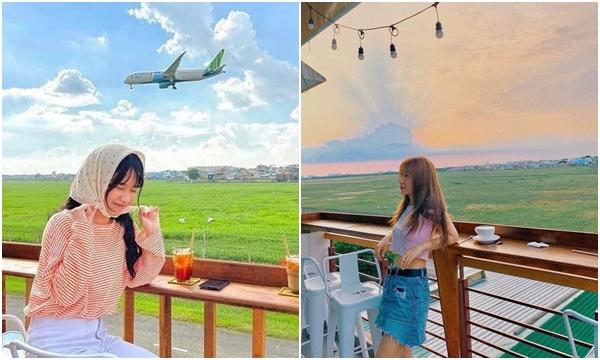 Hot rần rần quán cà phê Rooftop view ngắm máy bay có 1-0-2 ở Sài Gòn