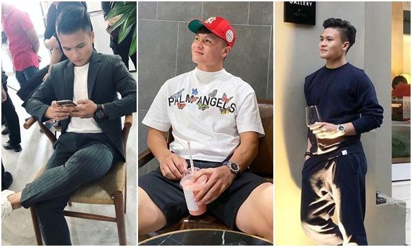 """Phong cách ăn mặc """"giản dị"""" của Quang Hải vẫn khiến ối cô gái phải """"mê mệt"""""""