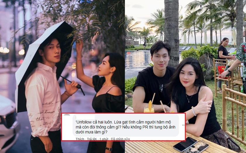 """Khẳng định chỉ là bạn, Vũ Thanh Quỳnh và Alan Phạm bị fans quay lưng: """"Lừa gạt tình cảm fans mà còn đòi thông cảm?"""""""