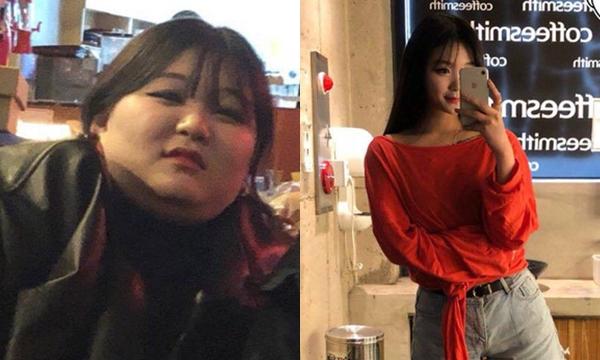 Thành quả lột xác 60 ngày của nàng 93 cân đáng kinh ngạc: Muốn đẹp phải kiên trì