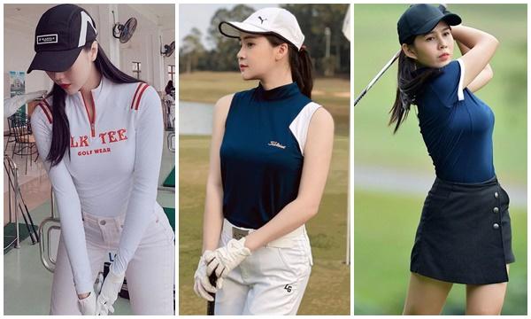 Loạt gái đẹp đồng loạt khoe dáng ở sân golf, chỉ 1 bức ảnh biết ngay khí chất và sang cỡ nào!