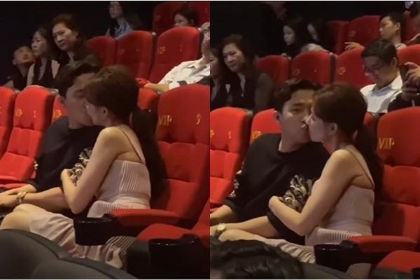 Khoảnh khắc gây sốt của cặp đôi Trấn Thành - Hari Won: 10 phút hôn nhau đến 4 lần