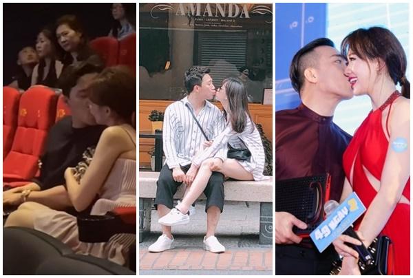 Chỉ có ở cặp đôi Trấn Thành - Hari Won: Thoải mái ôm hôn mọi nơi mọi lúc