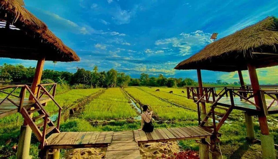 Trải nghiệm có 1-0-2 ở Khu tắm bùn giữa cánh đồng đẹp như thiên đường nhiệt đới Bali