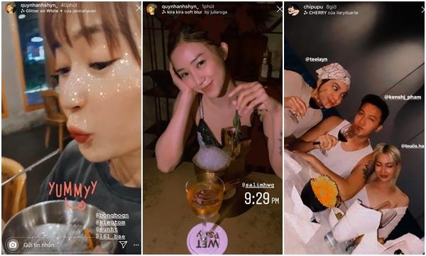 """""""Trật tự"""" hội bạn chung của Chi Pu - Quỳnh Anh Shyn sau drama """"nghỉ chơi"""": Người áp đảo số lượng, người lại có """"chị em tri kỷ"""""""