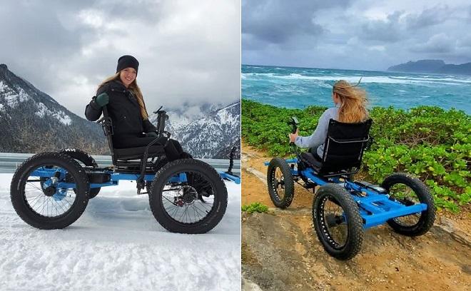 Thiết kế loại xe điện thay thế xe lăn để đưa người bạn đời bị liệt đi khắp nơi, anh chàng nảy ra ý tưởng kinh doanh tuyệt vời