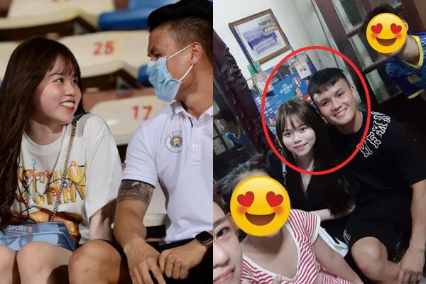 """Hậu """"Scandal"""", Huỳnh Anh follow Quang Hải lại trên instagram, giận đấy nhưng vẫn yêu lắm đấy"""