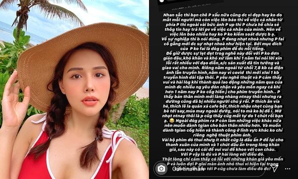 """Phanh Lee """"giáo huấn"""" anti-fans khi bị nhận xét nhan sắc, sự nghiệp nhạt nhòa mượn chuyện đời tư để nổi tiếng"""