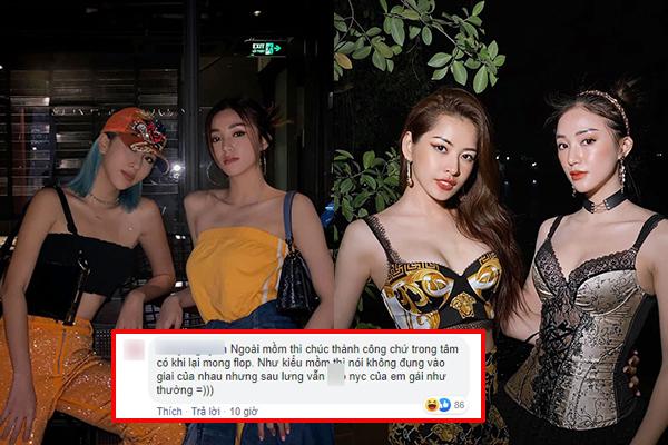 Cùng bình luận chúc mừng Salim, Quỳnh Anh Shyn và Chi Pu bị dân mạng phản ứng khác nhau