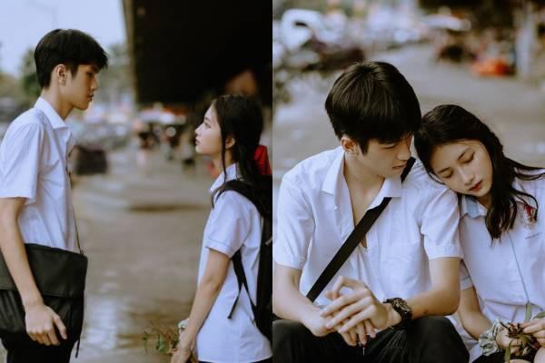 """""""Tan chảy"""" trước bộ ảnh tình yêu học trò trong trẻo: Tình yêu năm 17 tuổi là người bạn dành tình cảm trọn vẹn nhất"""
