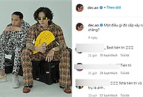 Mặc kệ fan đồn đại, Decao chuyển style phối đồ lạ mắt với chiếc quạt giấy trong post