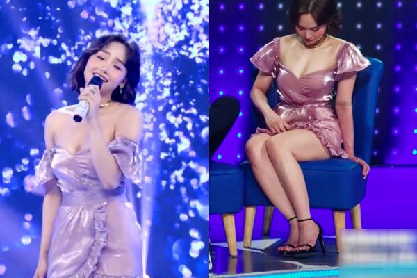 Xuất hiện xinh đẹp hậu giảm cân, Miu Lê suýt lộ hàng vì diện váy quá ngắn
