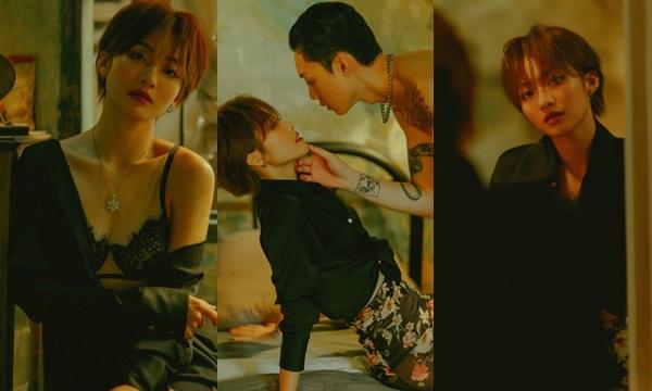 """Bỏng mắt với loạt cảnh thân mật cuả Khả Ngân trong MV mới: """"Hot girl boxing"""" một thời là đây sao ?"""
