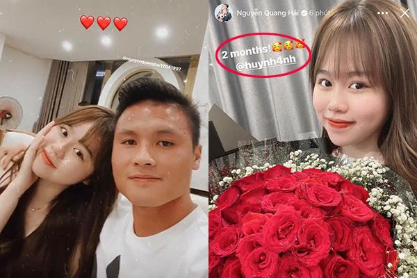 """Quang Hải lần đầu khoe ảnh tình tứ bên bạn gái sau scandal """"nhún nhảy"""", ngầm khẳng định """"mãi bên nhau bạn nhé""""!"""