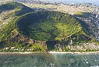 Khám phá hòn đảo sở hữu tới 2 miệng núi lửa có tuổi đời hàng chục triệu năm ở Việt Nam