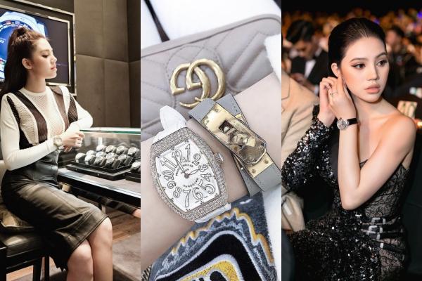 """Bóc giá BST đồng hồ siêu khủng của Hoa hậu """"Rick Kid"""" Jolie Nguyễn giữa scandal đang gây bão"""