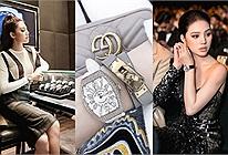 Bóc giá BST đồng hồ siêu khủng của Hoa hậu