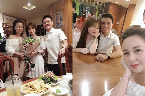 Hết ra mắt mẹ ruột, Huỳnh Anh lại nhanh chóng lấy lòng mẹ nuôi Quang Hải, dự là sắp về chung một nhà đây!
