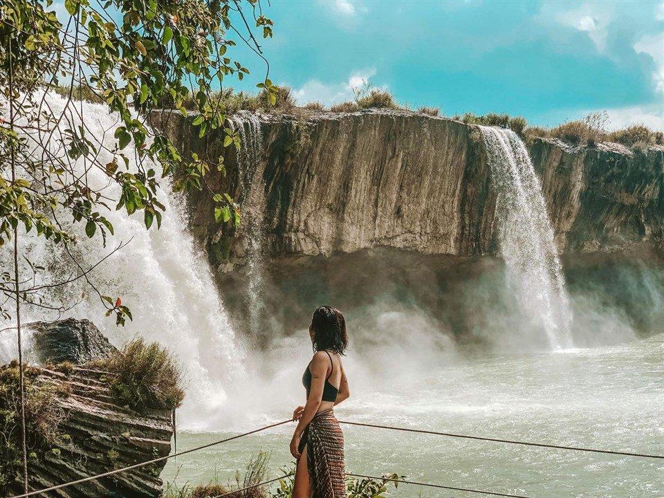 Về Đắk Lăk nghe thiên tình sử thổn thức của thác Dray Nur ở Tây Nguyên