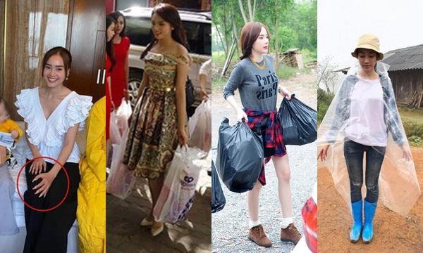 """Thời trang đi từ thiện của mỹ nhân Việt: mặc giản dị đến đâu cũng bị """"soi"""" ra một lỗi mất điểm trầm trọng"""