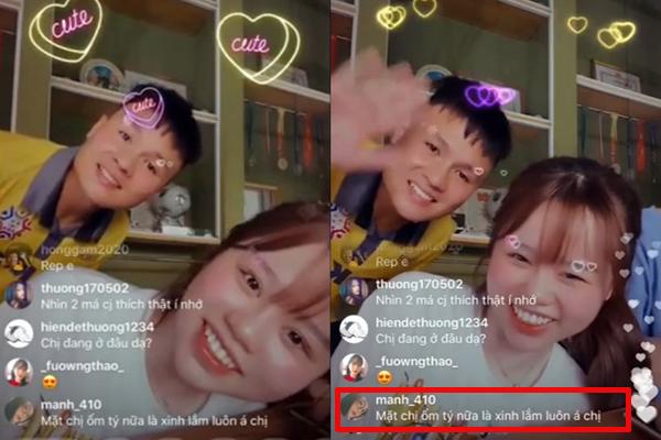 """Xuất hiện cùng Quang Hải trong livestream mới nhất, Huỳnh Anh """"kể tội"""" người yêu: """"Càng ngày càng cục súc với em"""""""