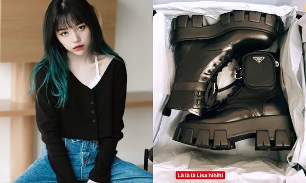 Mạnh tay chi hẳn 25 triệu để mua boots giống Lisa, Linh Ngọc Đàm đích thực là fan cứng của BlackPink chứ đâu