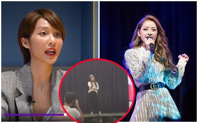"""Sau phát ngôn hát hay hơn Chi Pu, Khả Ngân bị đào clip hát live giọng như """"học sinh diễn văn nghệ"""""""