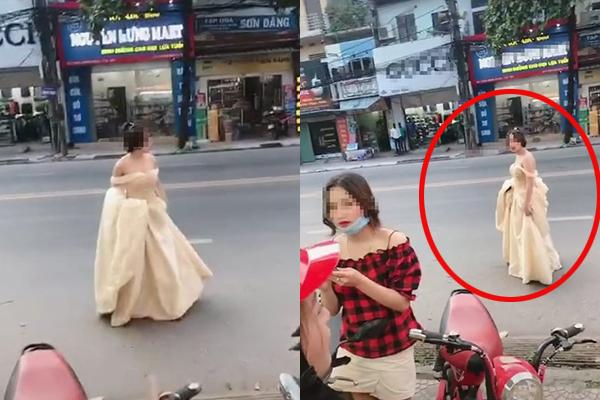 Người yêu cũ đi lấy vợ, cô gái mặc váy cưới hớt hải chạy bộ cả kilomet chỉ để đến hôn trường mỉm cười chúc phúc