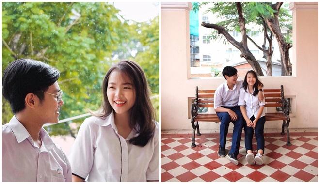 """2 năm bên nhau, cặp đôi """"thanh xuân vườn trường"""" vừa yêu vừa học giỏi nhất nhì trường chuyên nức tiếng Sài thành"""