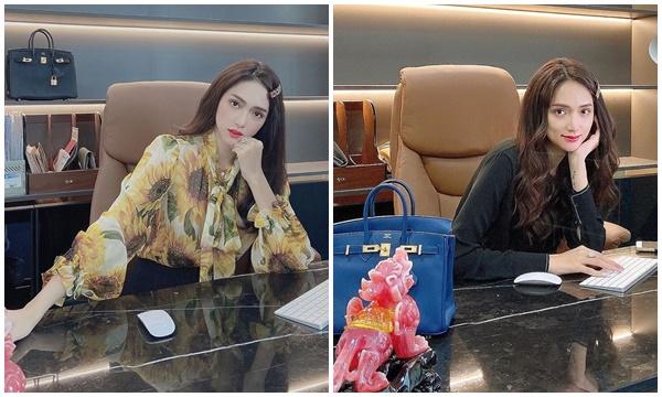 CEO Hương Giang đến công ty: mỗi ngày là 1 mẫu túi 300 triệu khác nhau