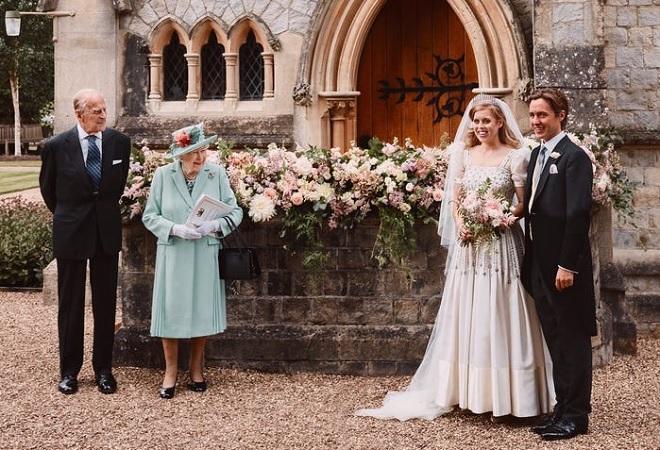 10 chi tiết đáng chú ý trong đám cưới hoàng gia bí mật của Công chúa Anh Beatrice