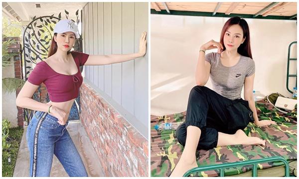 """Con dâu siêu mẫu tỷ phú Hoàng Kiều về nước cách ly: thời trang khu cách ly tập trung và dáng vóc """"không phải dạng vừa đâu"""""""