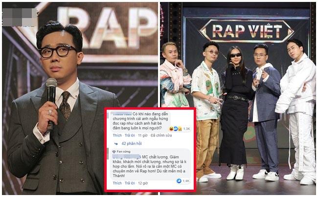 """Trấn Thành bị phản đối khi làm MC chương trình Rap Việt: """"Lại thêm một show hài mới"""""""