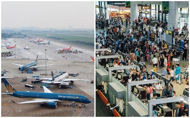 Mùa cao điểm du lịch, giá vé máy bay tăng khoảng 1,5 lần so với tháng trước