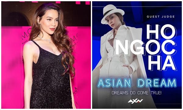 """Sắp đẻ đến nơi rồi, """"bà bầu"""" Hồ Ngọc Hà vẫn giám khảo show âm nhạc đình đám châu Á"""